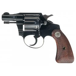 Rare Colt Bankers Special Double Action Revolver in 22 Long Rifle