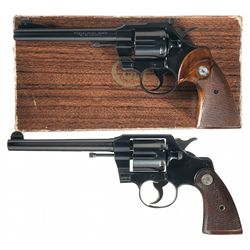 Collector's Lot of Two Colt Double Action Revolvers