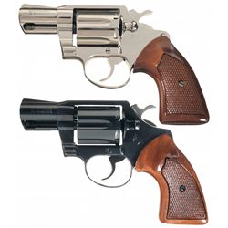 Collector's Lot of Two Colt Detective Special Double Action Revolvers