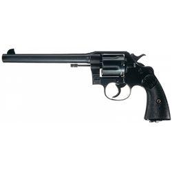 Excellent Colt New Service Double Action Revolver