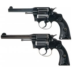 Collector's Lot of Two Colt Police Positive Double Action Revolvers