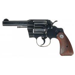 Unique Colt 357 Model Double Action Revolver
