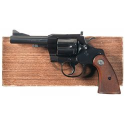 Colt 357 Magnum Model Double Action Revolver with Box