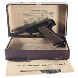Excellent Pre-War/Post-War First Series Colt Woodsman Sports Model Semi-Automatic Pistol with Origin