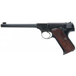 Pre-War Colt Woodsman Target Model Semi-Automatic Pistol