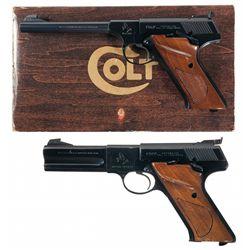 Collectors Lot of Colt Third Series Woodsman Pistols