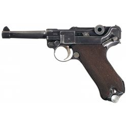 Mauser G Date S/42 Luger Semi-Automatic Pistol