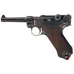 WWI 1918 Dated Erfurt Luger Pistol