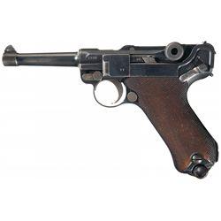 WWI German 1915 Dated DWM Model 1914 Military Luger Pistol