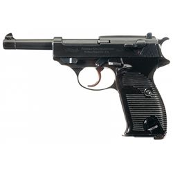 Excellent Walther Model HP Semi-Automatic Pistol with Hardshell Holster and Extra Magazine