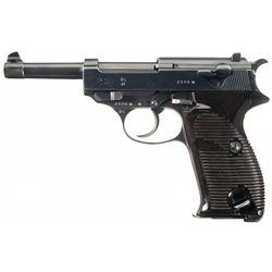 Walther  ac/41  Code P-38 Pistol with Matching Magazine