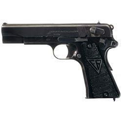 Excellent Radom Vis Nazi Occupation Model 35 Semi-Automatic Pistol with Holster