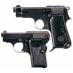 Collector's Lot of Two Beretta Semi-Automatic Pistols
