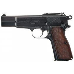 Pre-War Fabrique Nationale High Power Semi-Automatic Pistol