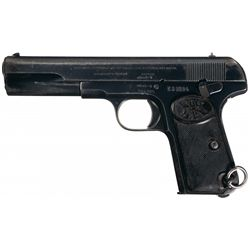 FN Browning Model 1903 Semi-Automatic Pistol with Holster