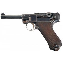 DWM 1920 Commercial Luger Semi-Automatic Pistol
