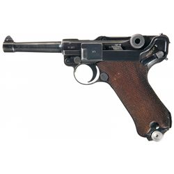WWII 1940 Dated Nazi Mauser Luger Pistol