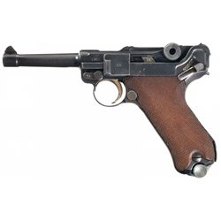 "1937 Dated Mauser ""S/42"" Luger Pistol"