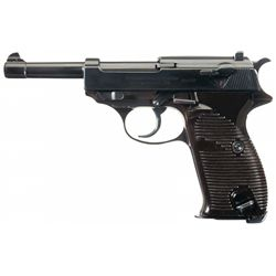 Excellent Commercial Walther P-38 Pistol with Holster and Extra Magazine