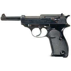Scarce Pre-War Swedish Contract Walther HP P-38 Pistol