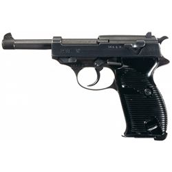 """Excellent WWII Mauser """"byf/44"""" Code P-38 Semi-Automatic Pistol"""