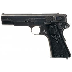 Nazi Proofed Occupation Polish Radom P-35(p) Pistol with Holster and Extra Magazine