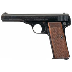 Nazi Occupation Fabrique Nationale Model 1922 Pistol with Holster, Extra Magazine and Capture Papers