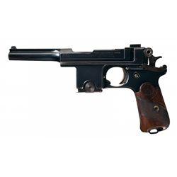 Pieper Bergmann Patent Model 1910/21 Semi-Automatic Pistol