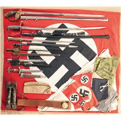 Collection of Miscellaneous Military Items