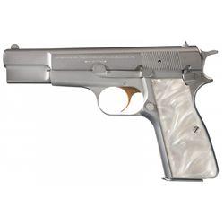 Belgian Browning High Power Semi-Automatic Pistol