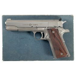Extremely Rare Documented Experimental Titanium-Framed AMT Hardballer Semi-Automatic Pistol with Box