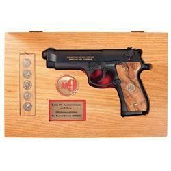 """Cased Beretta M9 """"The Second Decade"""" Commemorative Semi-Automatic Pistol"""