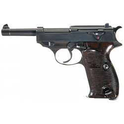 Wartime Commercial Walther HP Semi-Automatic Pistol