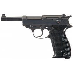 Wartime Commercial Contract Walther P38 Semi-Automatic Pistol
