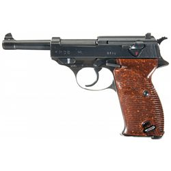 Late WWII Zero-Series (cyq) P38 Semi-Automatic Pistol