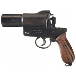 Japanese Type 10 Flare Pistol with Holster