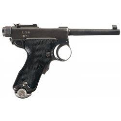 Scarce Pre-WWII Japanese Model 1902 Papa Nambu Pistol