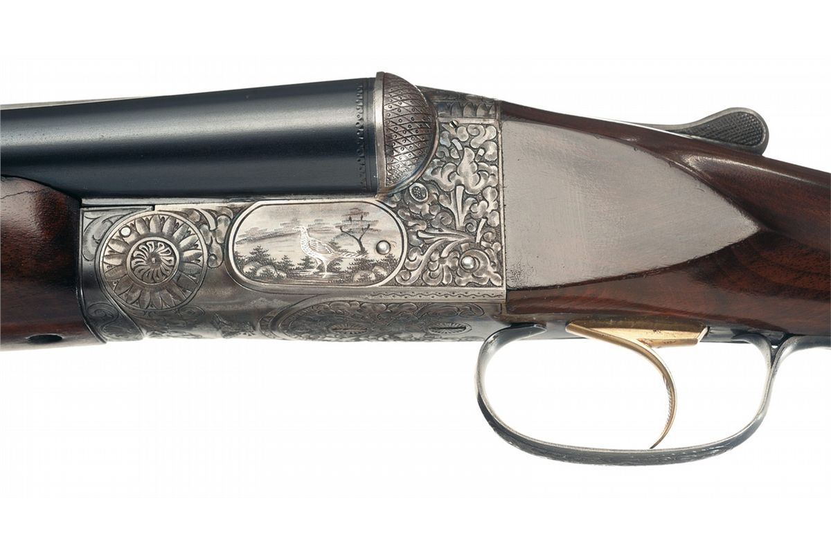Excellent Rare New Ithaca Double Grade 5 Double Barrel Shotgun