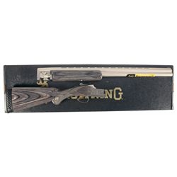 Browning Citori Stainless Steel Lightning Over/Under Shotgun with Box