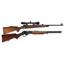 Two Sporting Long Guns