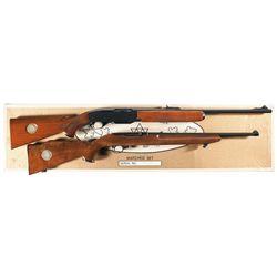 Matching Boxed Set of Two Canadian Centennial Semi-Automatic Long Guns