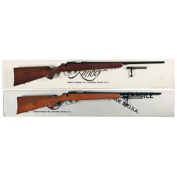 Two Boxed Kimber Bolt Action Rifles