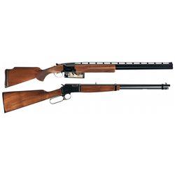 Two Browning Long Guns