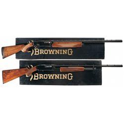 Two Boxed Browning Shotguns