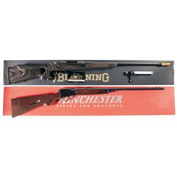 Two Boxed Sporting Rifles