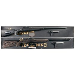 Two Boxed Browning A-Bolt II Rifles