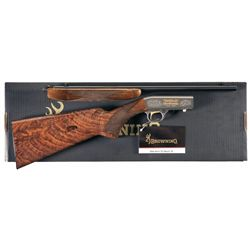 Engraved Browning 125 Year Commemorative .22 Semi-Automatic Rifle with Box