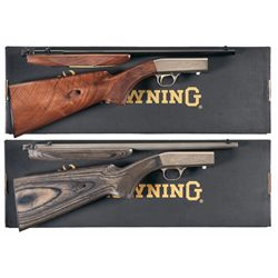 Two Boxed Browning Semi-Automatic Rifles