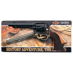 F. Lli Pietta Model 1873 Great Western II Single Action Revolver with Box