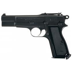 """Desirable Belgian Browning High Power """"C"""" Series Pistol"""